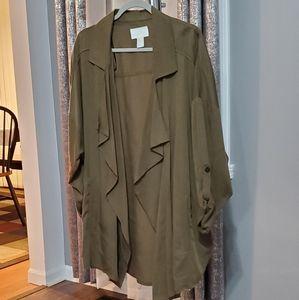 H&M asymmetric oversized blazer size M